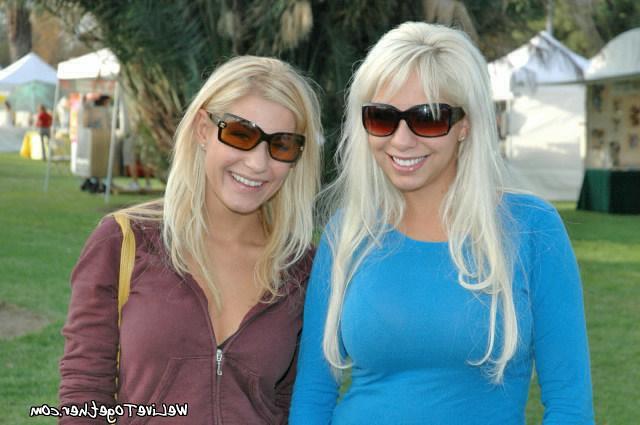 Blondies with beautiful redhead lesbian 1 photo