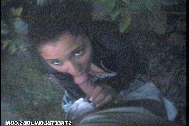 Cute girl sucks for beautiful stranger in the woods on camera 16 photo