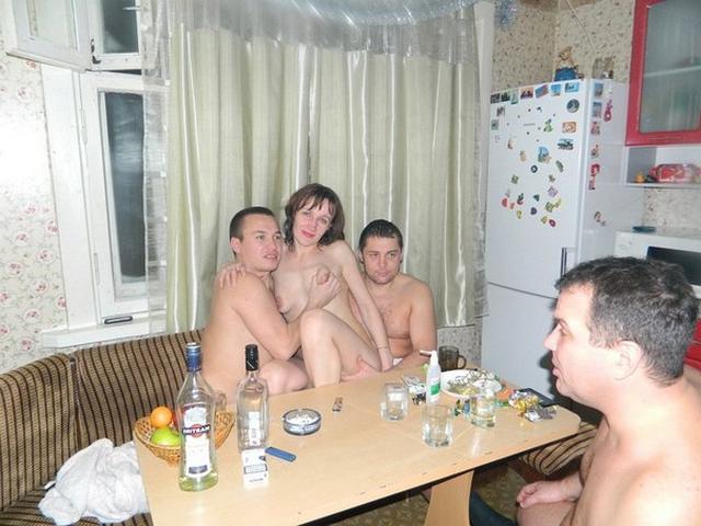 Company boys harshly fucks girl in all holes 13 photo