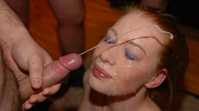Hot girls are fans of bright cumshot 26 photo