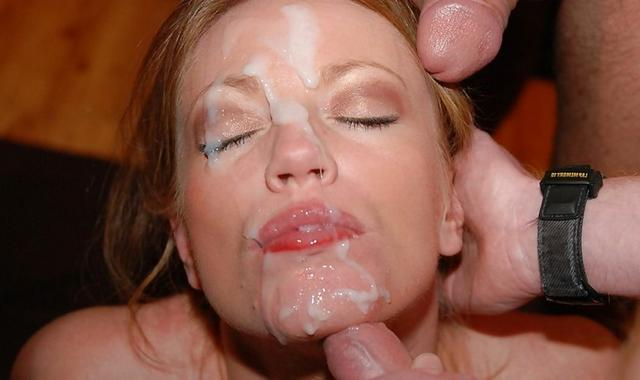 Hot girls are fans of bright cumshot 34 photo