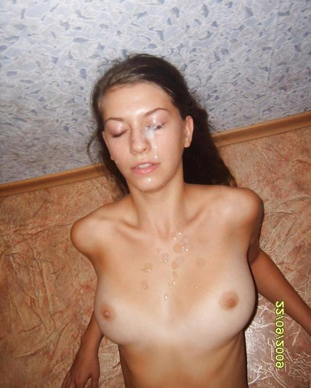 Girls swallowing thick dicks and gets cum on face 6 photo