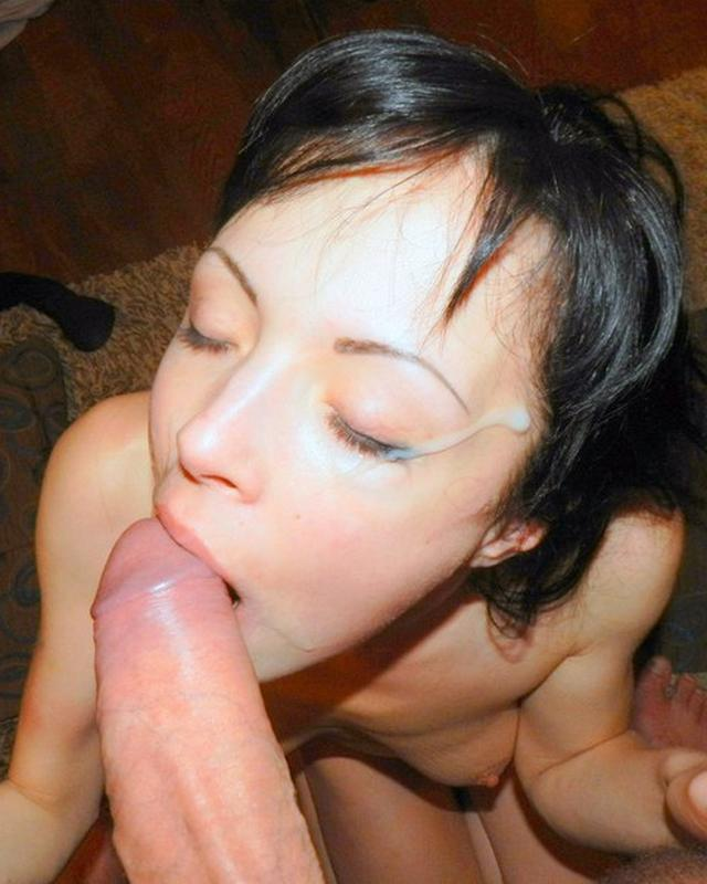 Girls swallowing thick dicks and gets cum on face 29 photo