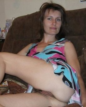 Wonderful women of mature age without panties
