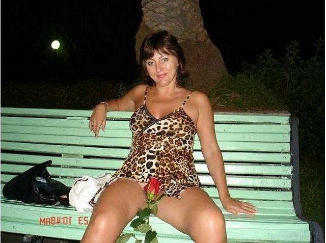 Wonderful women of mature age without panties 3 photo