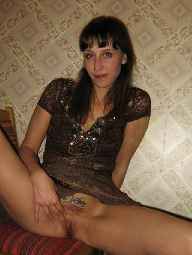 Cutie with tattoo over by a pussy loves sex with men and women 9 photo