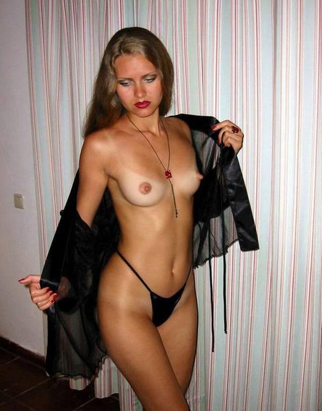 Жена в прозрачном порно