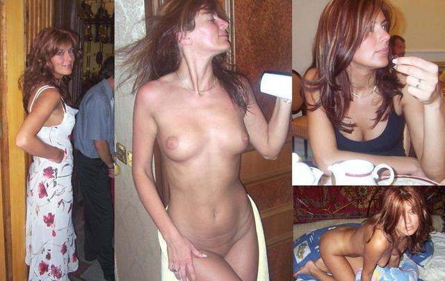 Clothed and naked nymphomaniac 23 photo