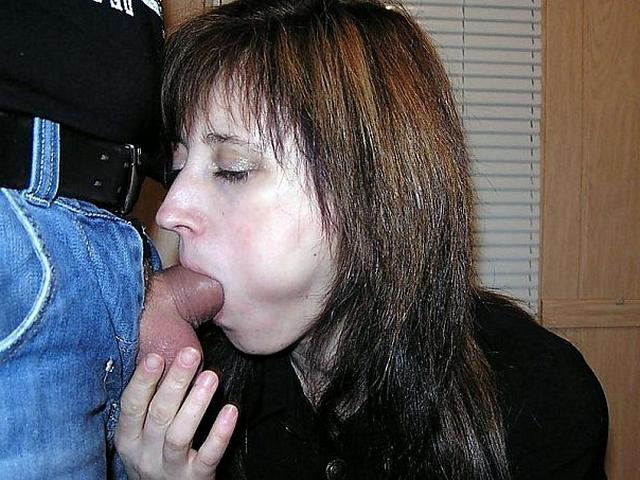 Girls like to do blowjob to their excited husbands 3 photo