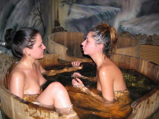 Naked bitches with nice bodies soared in the bath 13 photo