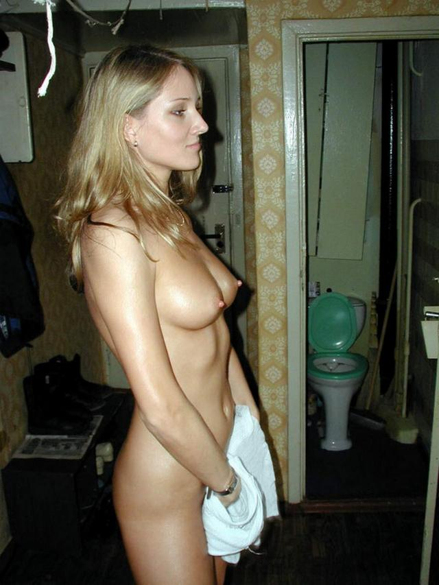 Horny blonde leads a tough toothbrush on pussy 2 photo