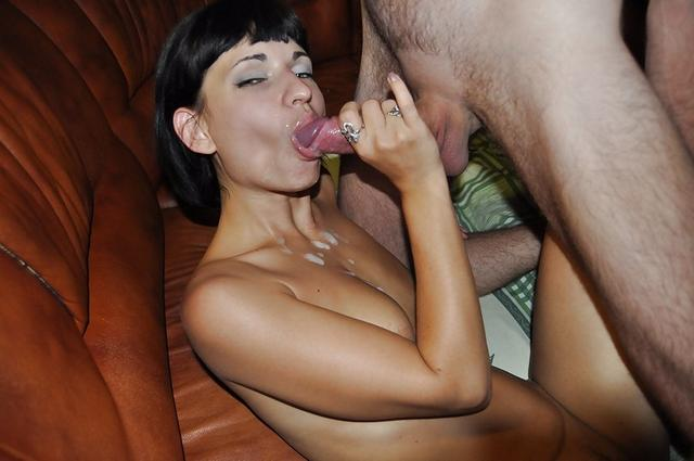 Hot brunette Nadia sucking and fucking on a pool table 37 photo