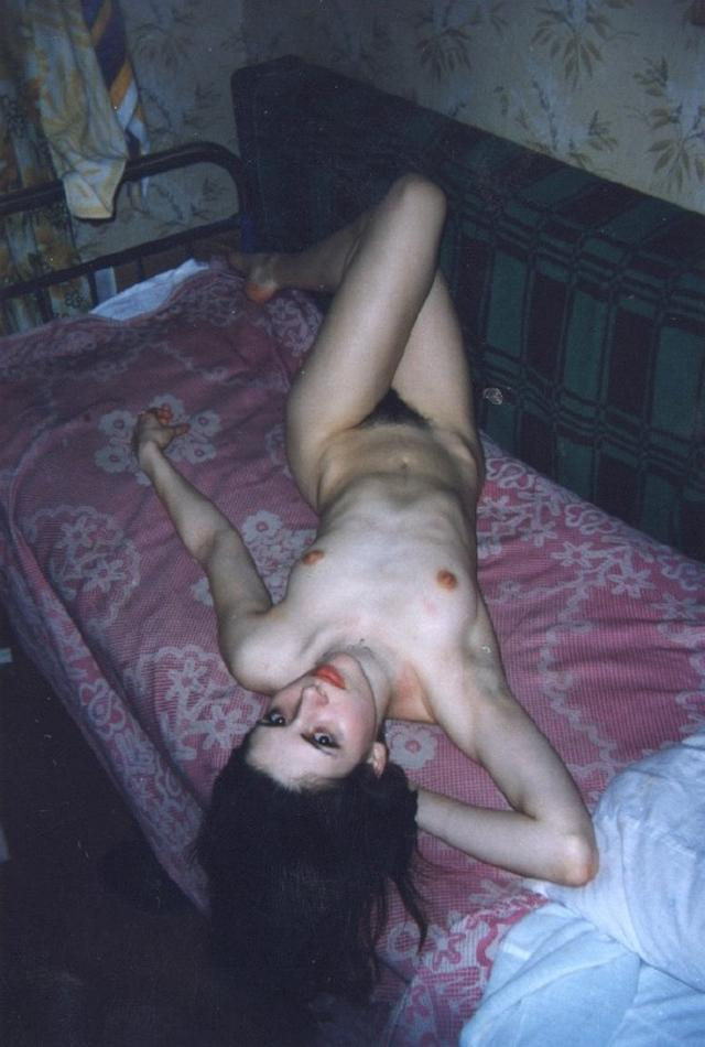 Retro photo of brunettes with massive tits and hairy pussy 2 photo