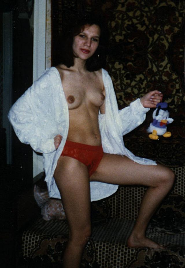Retro photo of brunettes with massive tits and hairy pussy 28 photo