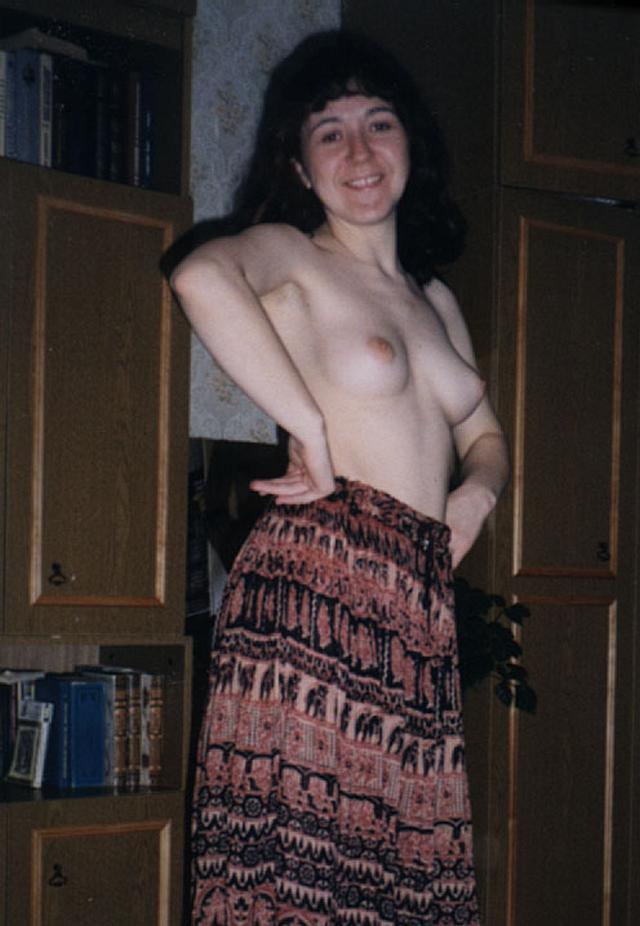 Retro photo of brunettes with massive tits and hairy pussy 24 photo