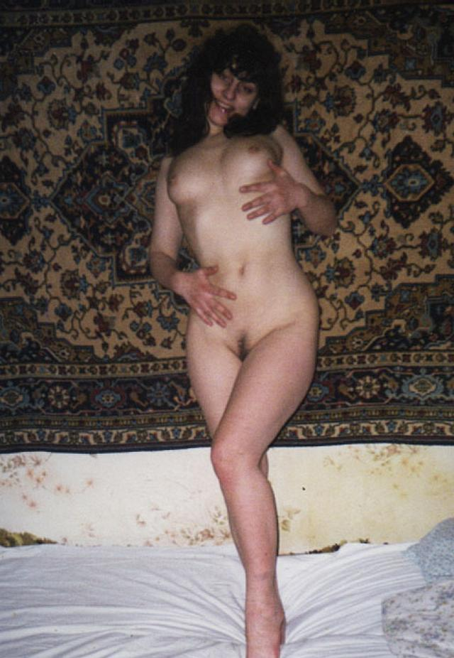 Retro photo of brunettes with massive tits and hairy pussy 32 photo