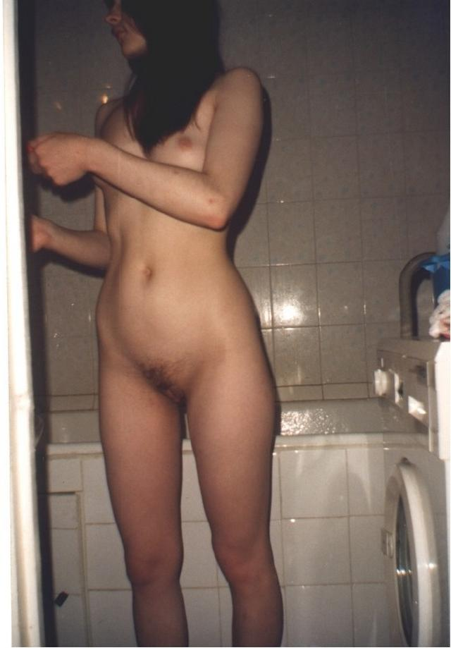 Retro photo of brunettes with massive tits and hairy pussy 13 photo