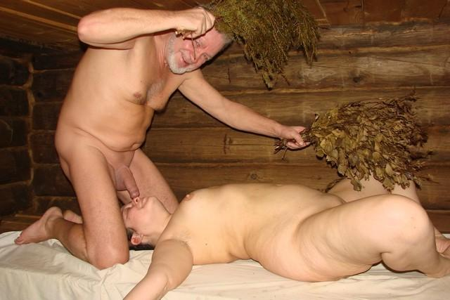 Intimate pictures of people who love sex in the sauna 8 photo