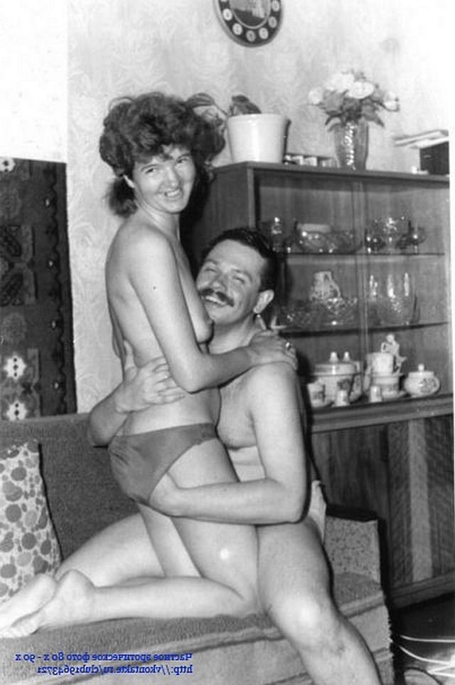 Soviet sex with booty wife really impressed 8 photo