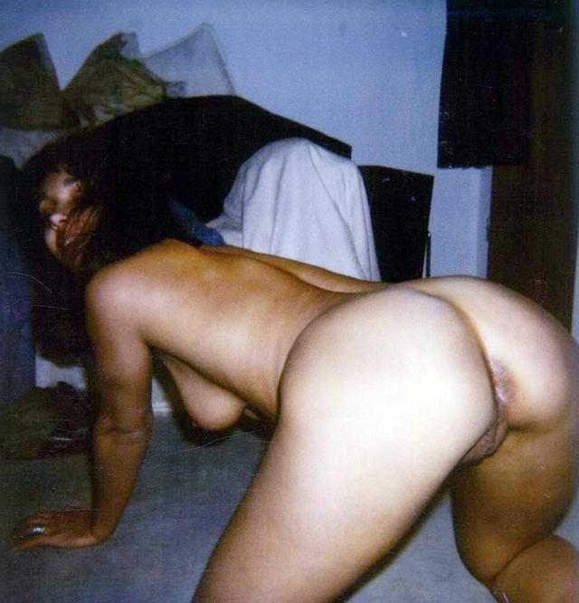 Beauties are showing their excited pussies - rear view 32 photo