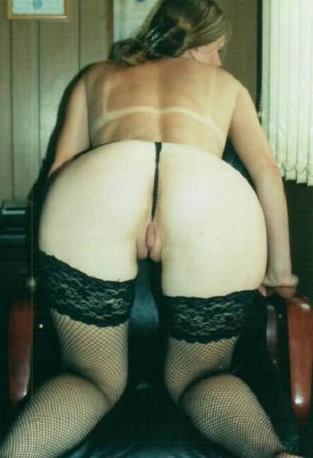 Beauties are showing their excited pussies - rear view 21 photo
