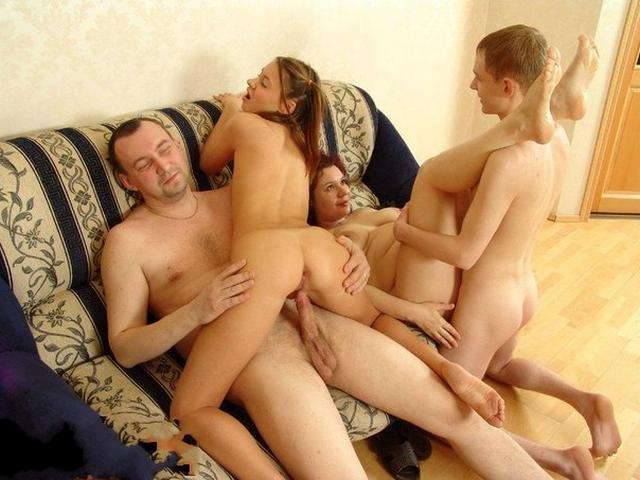 Young and mature wild fucks in group orgies 5 photo