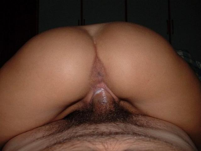 Penises penetrate the girl's pussy with cream 15 photo