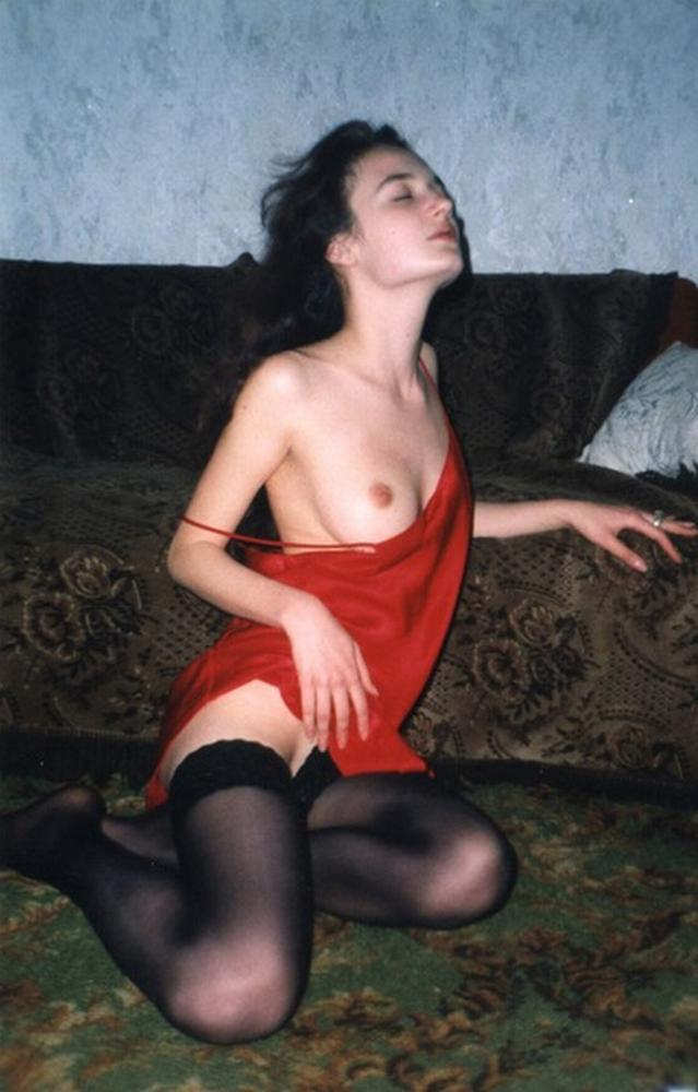 Russian babes in stockings on retro sex photos 12 photo