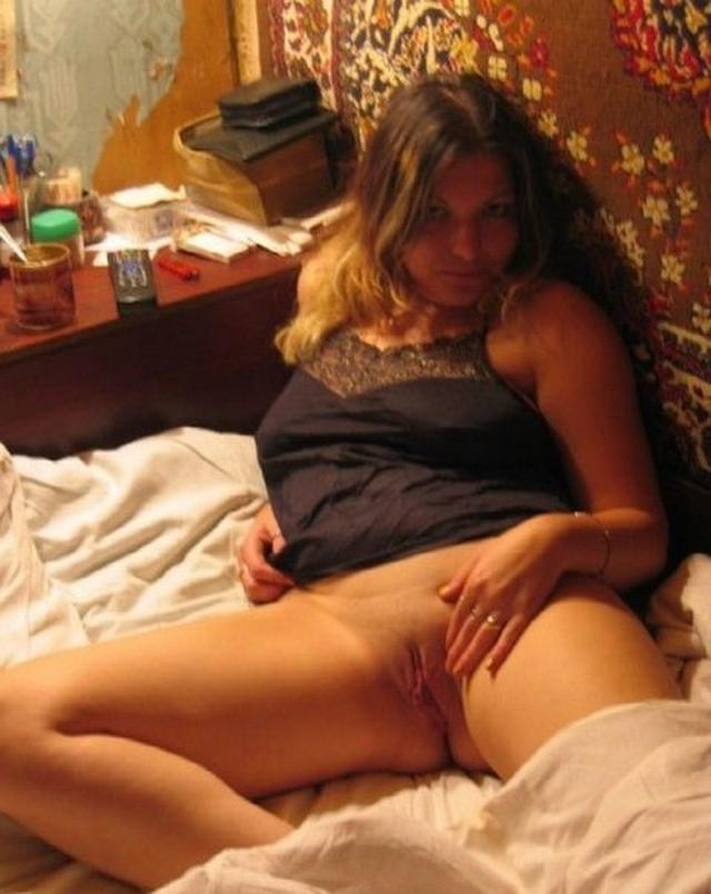 Busty wife gave herself her husband and friend in bedroom 7 photo