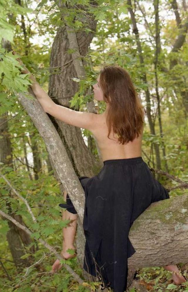 Naked Isabella with nice ass photographed in nature 11 photo