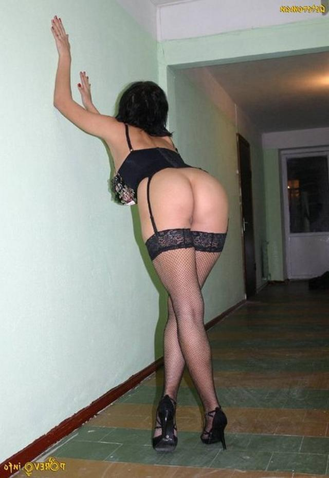 Long-legged whores posing in stairwell 22 photo