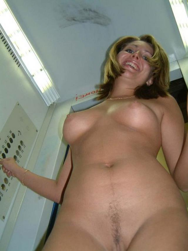 Long-legged whores posing in stairwell 12 photo
