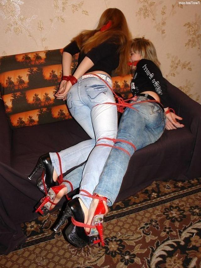 Bondage at home 10 photo