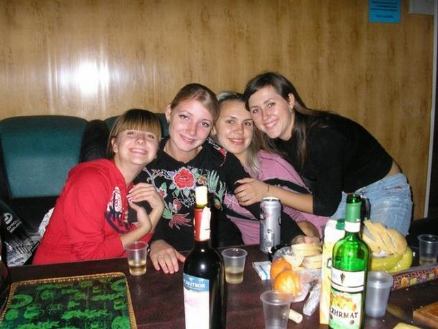 Entertainment beautiful college girls in sauna 3 photo