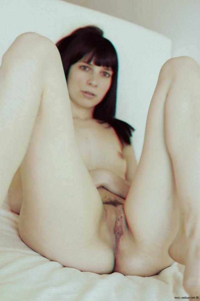 The dark-haired slut waiting for her big dick 16 photo
