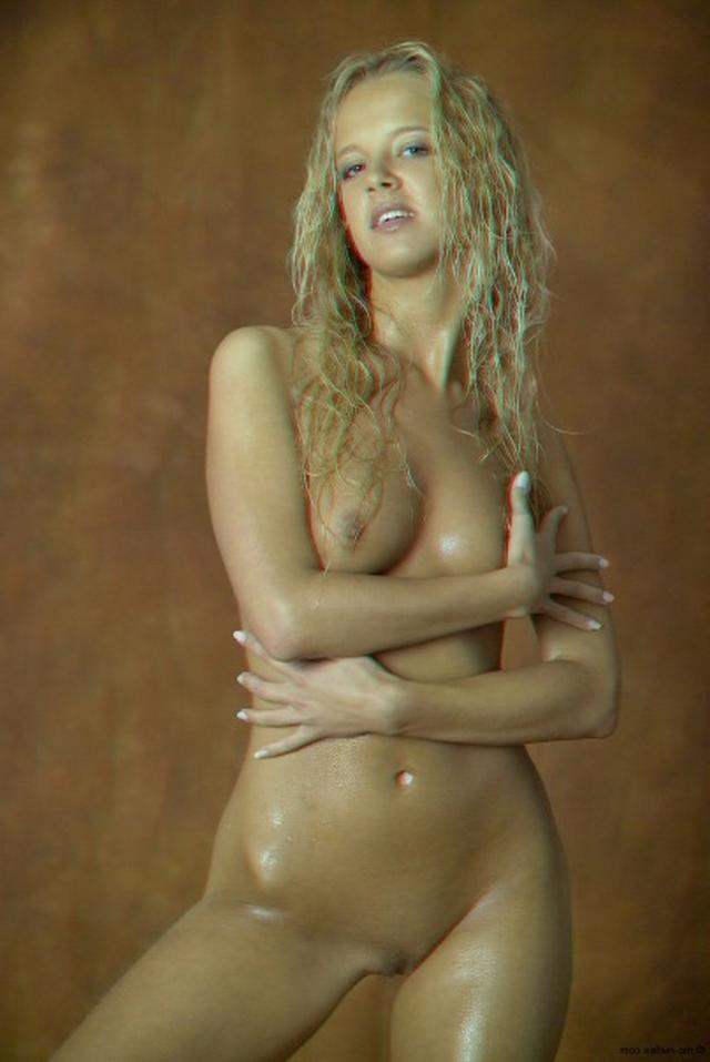 Curly busty blonde with a perfect body 20 photo