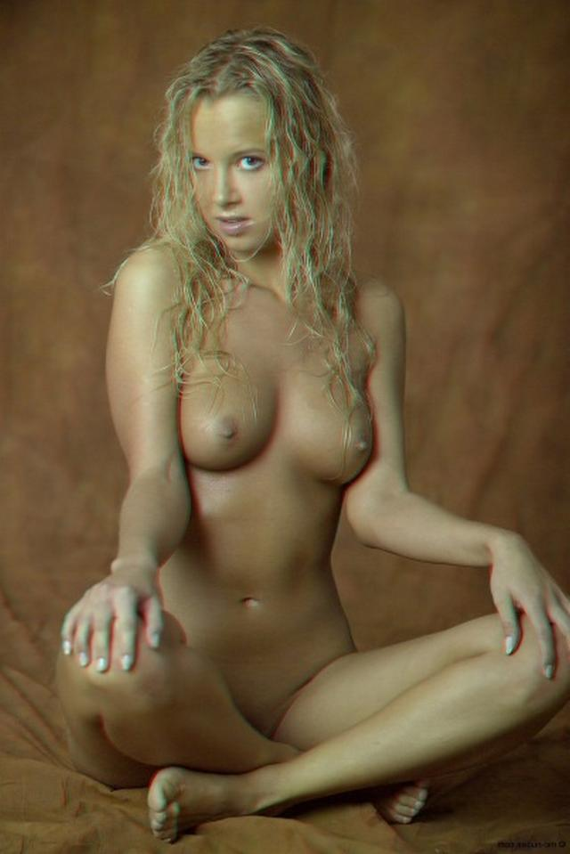 Curly busty blonde with a perfect body 14 photo