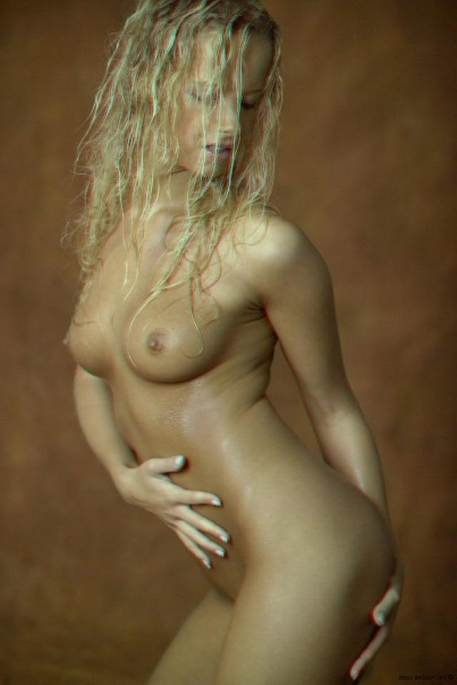 Curly busty blonde with a perfect body 11 photo