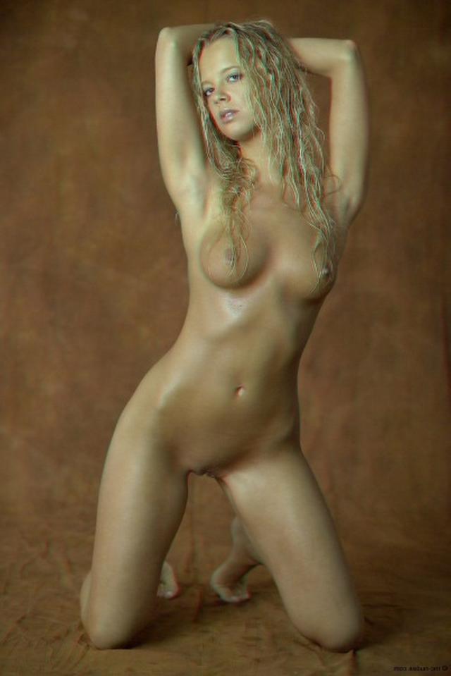 Curly busty blonde with a perfect body 3 photo