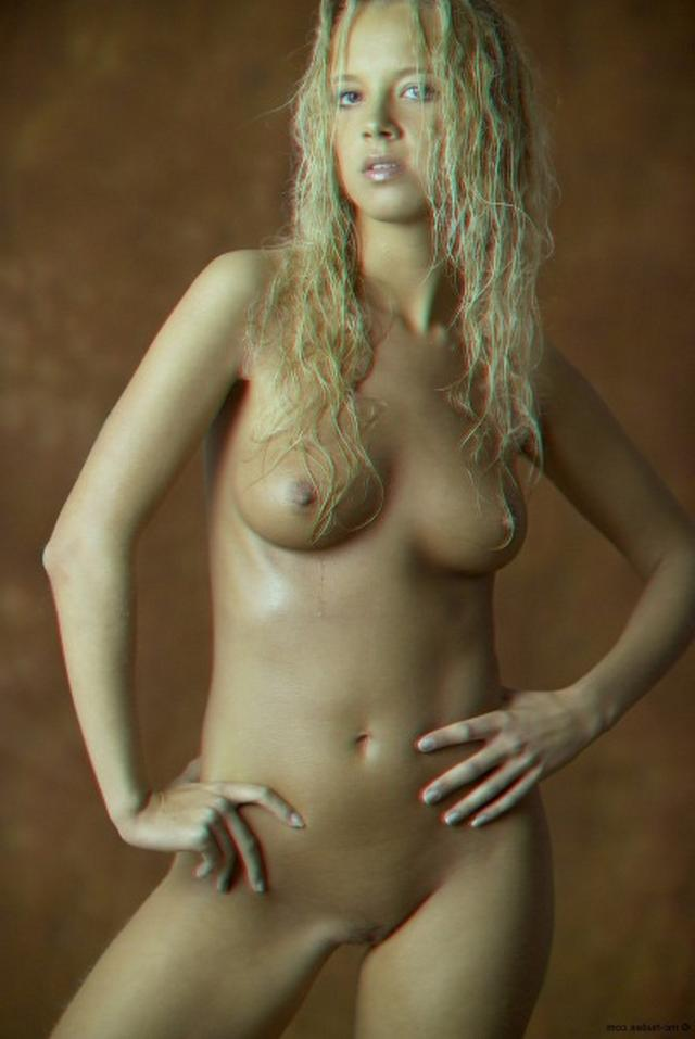 Curly busty blonde with a perfect body 19 photo