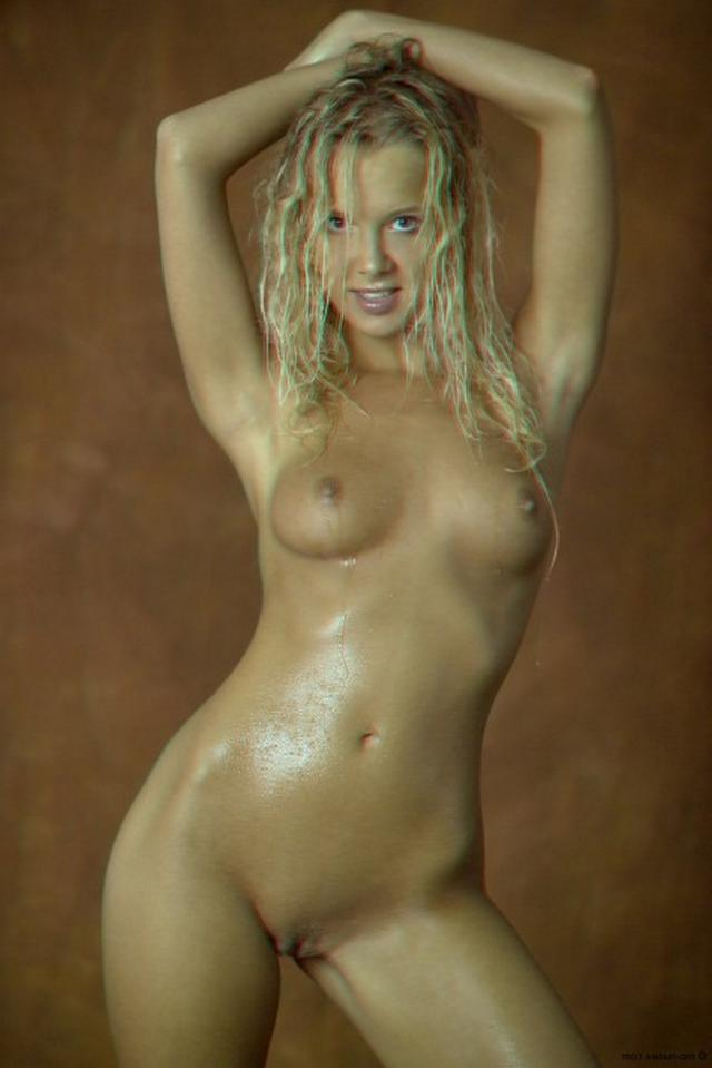 Curly busty blonde with a perfect body 13 photo