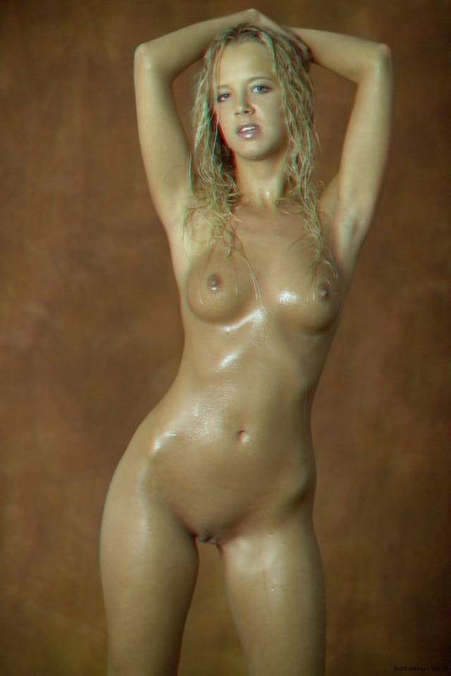 Curly busty blonde with a perfect body 15 photo