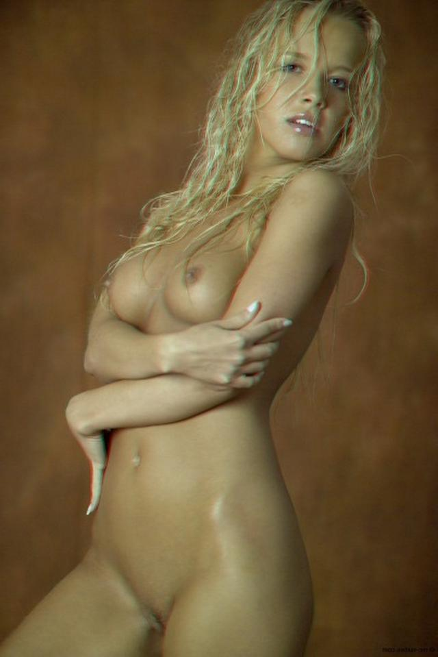 Curly busty blonde with a perfect body 8 photo