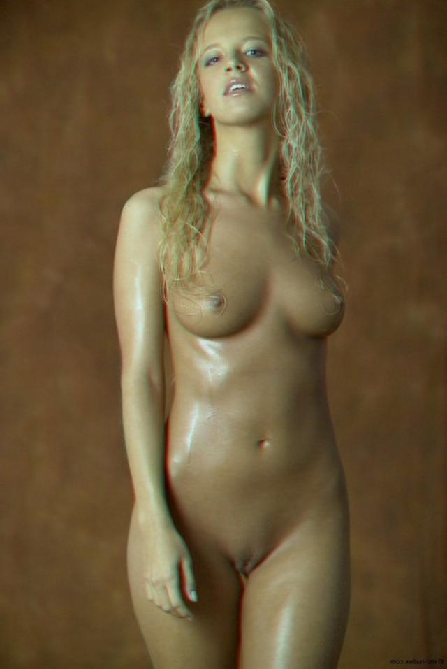 Curly busty blonde with a perfect body 9 photo