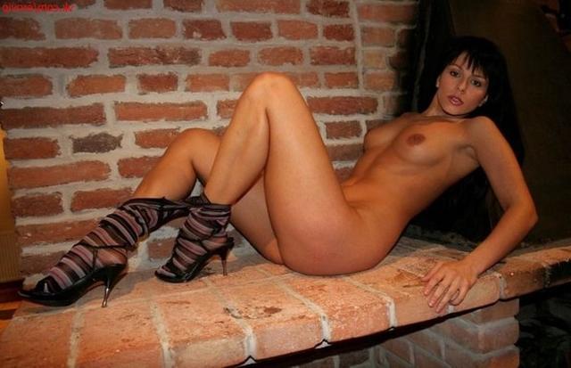 Sexy Alena in the kitchen 25 photo