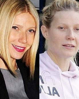 Sexy сelebrities without makeup lit up