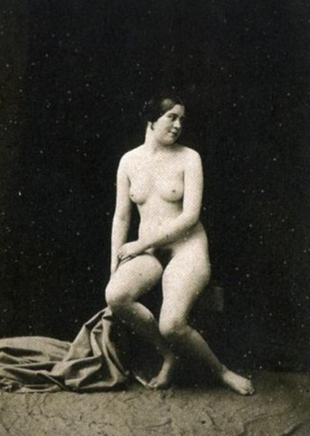 Retro pictures of pornographic nature with a perverse postures 13 photo