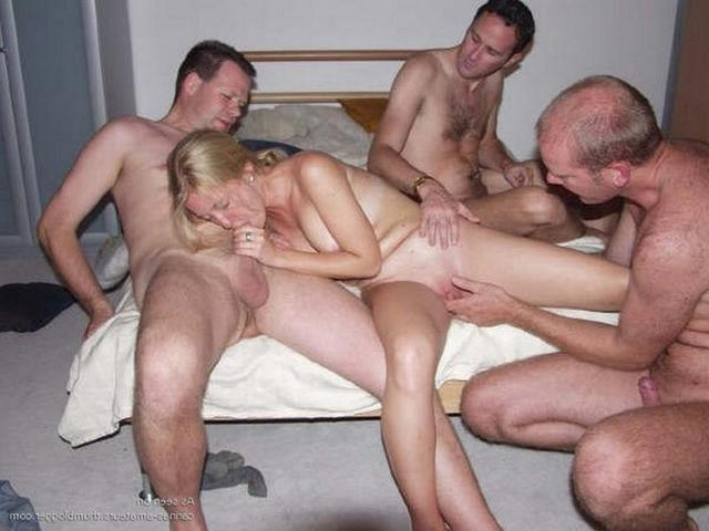 Russian gang bang with massive cocks and soft pussies 13 photo