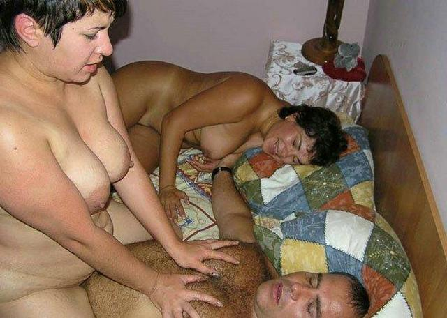 Russian gang bang with massive cocks and soft pussies 19 photo