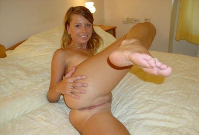 Redhead cute slut fucks with big pleasure in all holes 10 photo